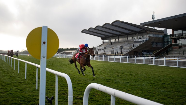 Envoi Allen and Jack Kennedy cruise to victory in the Drinmore Novice Chase at Fairyhouse
