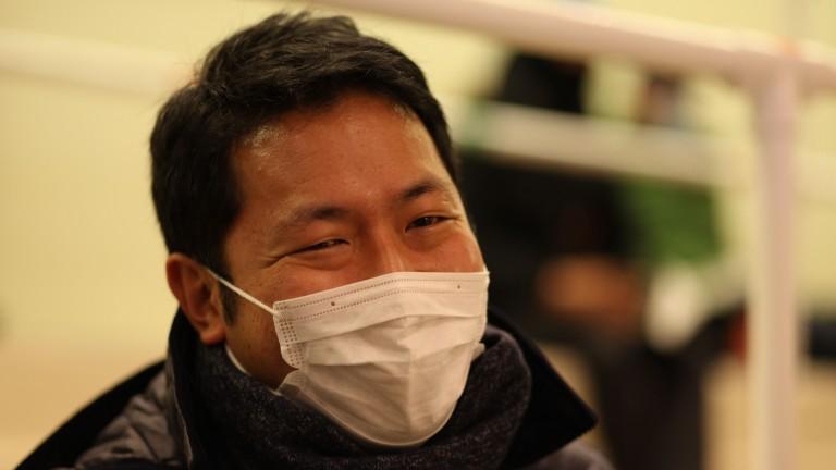 Shingo Hashimoto: signed on behalf of Northern Farm's Katsumi Yoshida