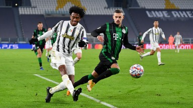 Juventus needed a late winner to see off Ferencvaros on matchday four