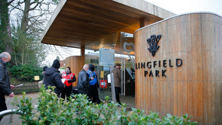 There were reports of trouble at Lingfield on Saturday evening