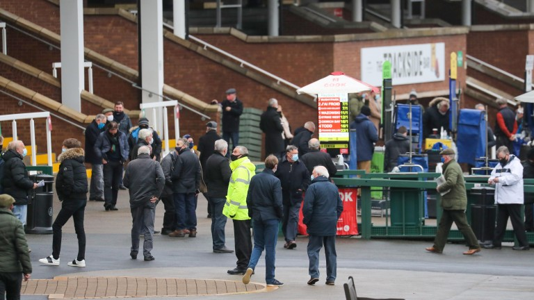 Crowds are back at Haydock too as the Merseyside course welcomes spectators