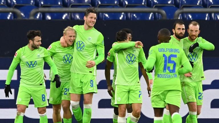 Wolfsburg could hold Leipzig on Sunday