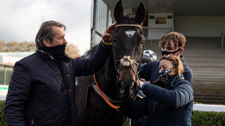 """Pat Fahy on Castlegrace Paddy's Tingle Creek challenge: """"It'd be lovely to see him being in the mix anyway"""""""
