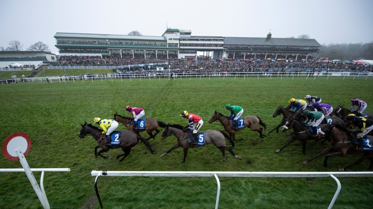 A full house attended last year's Welsh Grand National meeting at Chepstow