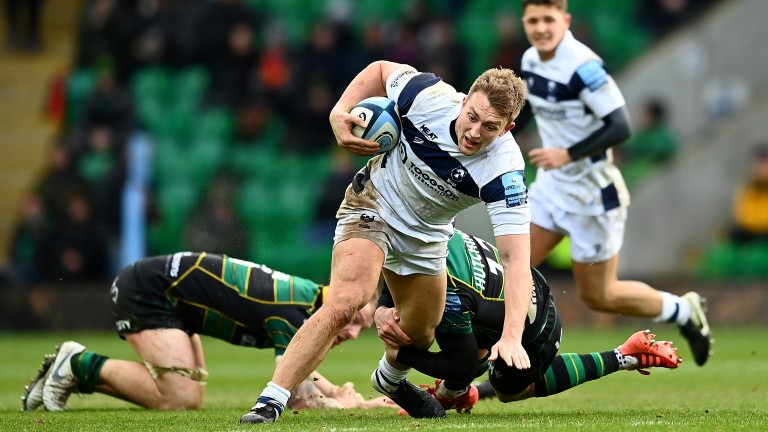 Sam Bedlow will play fly-half for Bristol Bears in the absence of Welsh international Callum Sheedy