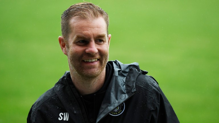 Harrogate Town boss Simon Weaver