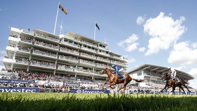 Up to 4,000 spectators could be at Epsom for Derby day if the government's plan goes as scheduled