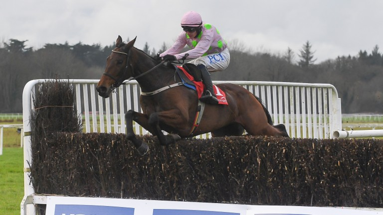 Chakun Por Soi on his way to victory in his reappearance in Cork