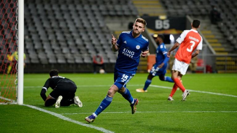 Harvey Barnes was on the scoresheet for Leicester against Braga