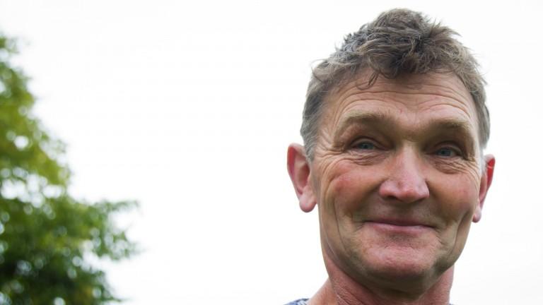 Mick Winters: trainer of handicap hurdle winner Arizona Flyer