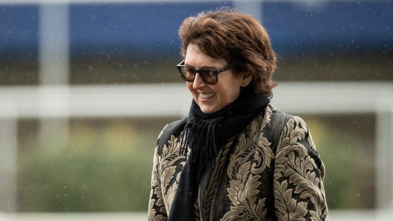 Venetia Williams: trained a treble at Leicester