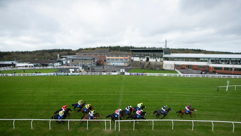 Exter racecourse was due to host around 500 spectators on New Year's Day