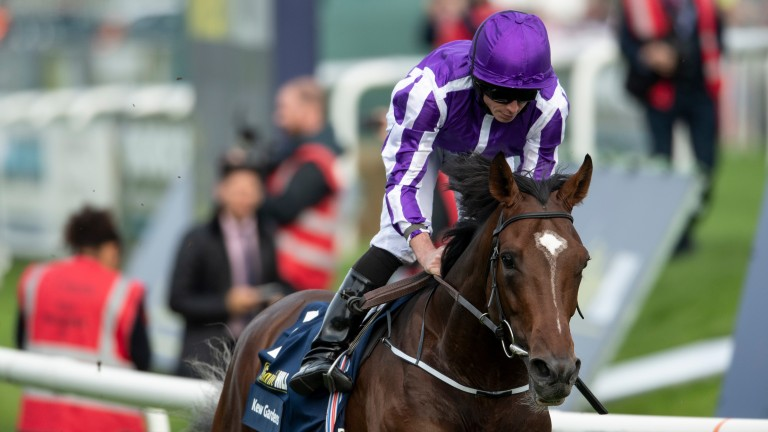 Kew Gardens wins the St Leger