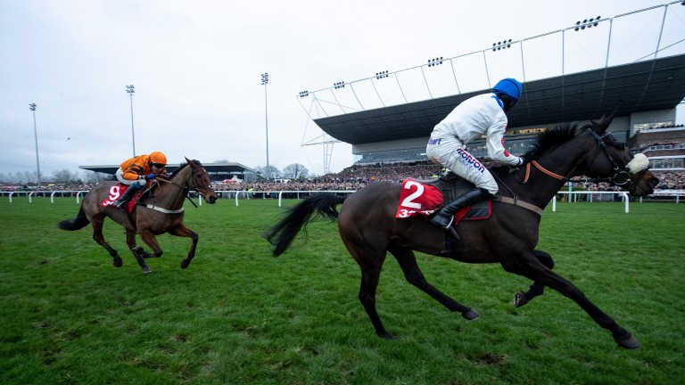 Clan Des Obeaux: two-time King George winner has been saved for Aintree