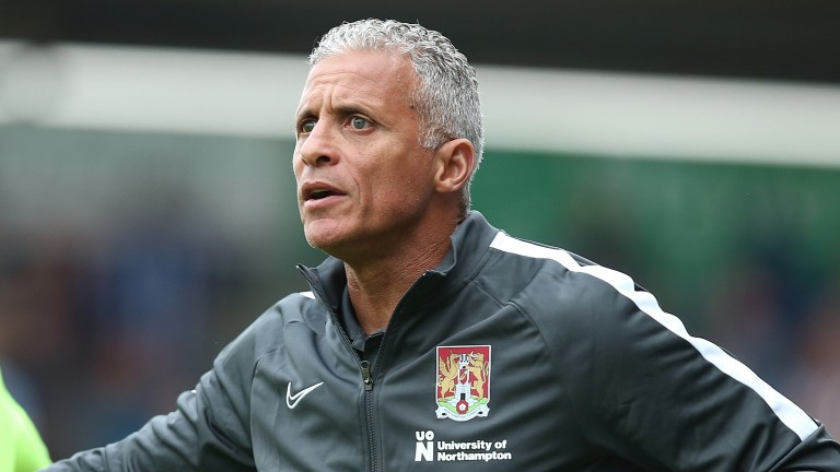 Northampton manager Keith Curle