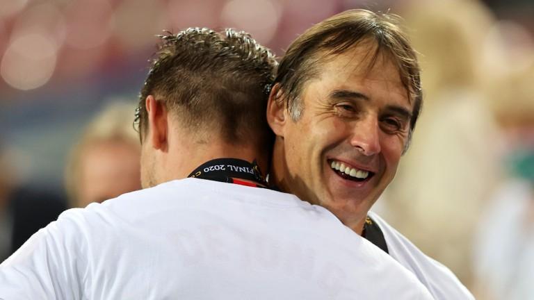 Sevilla coach Julen Lopetegui