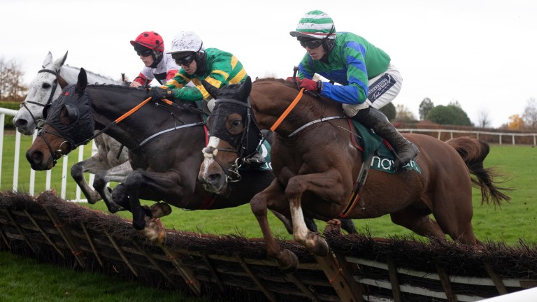 Ronald Pump: finished second in last year's Paddy Power Stayers' Hurdle