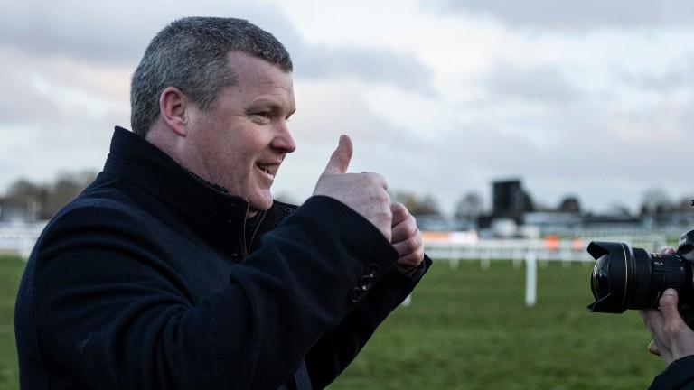 Gordon Elliott: trainer of Eyewitness