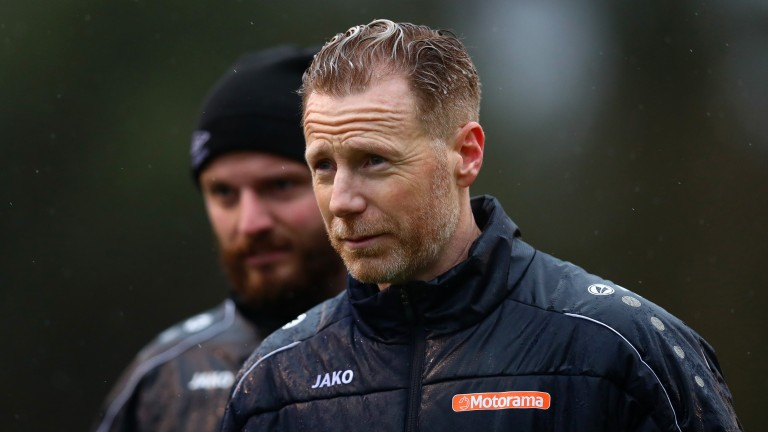 Southend manager Mark Molesley