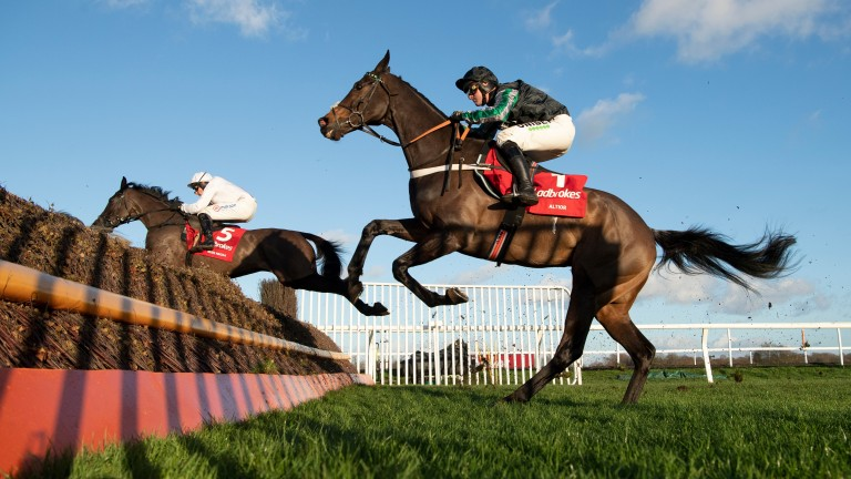 Altior: did not live up to expectations in the Desert Orchid Chase
