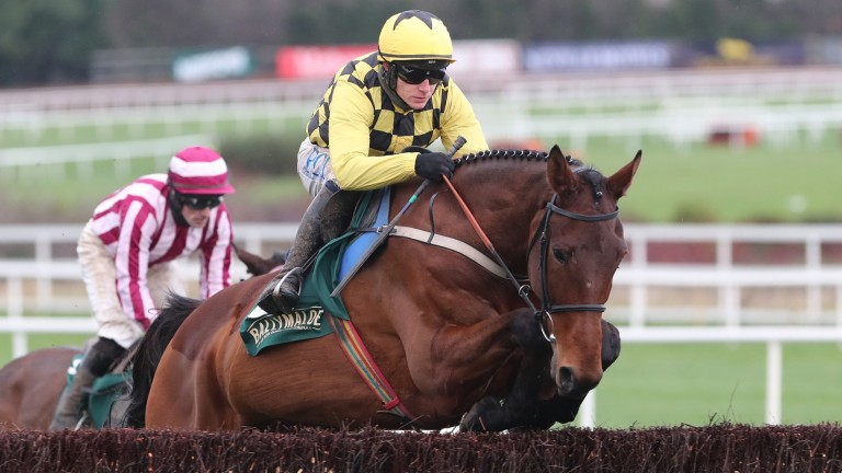The Big Getaway Jumped well under Paul Townend at Leopardstown on Monday