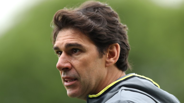 Birmingham manager Aitor Karanka