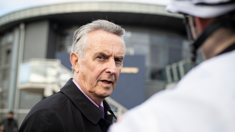 Jim Bolger: bred three Group 1 winners in 2020