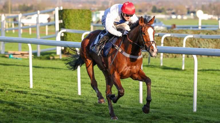 Talking About You: picked up more Listed honours at Taunton to set up major spring festival ambitions