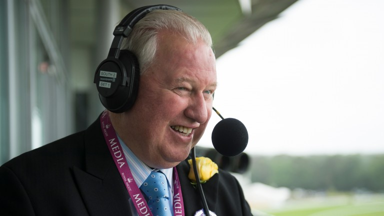 Jim McGrath: voiced over live pictures of the evacuation of the 1997 Grand National