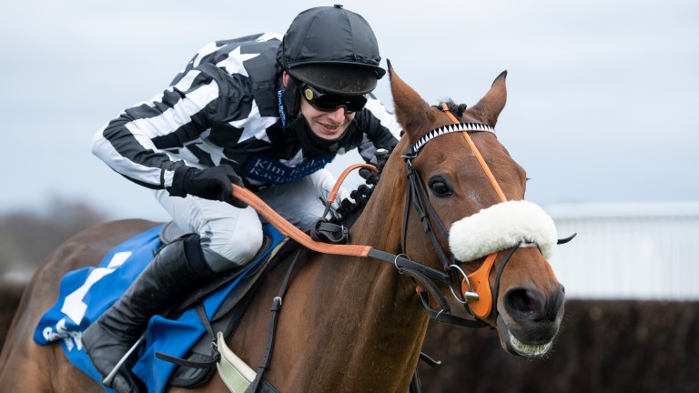 """Imperial Aura: """"I think it's a very competitive race but we go there with a very strong chance,"""" says Kim Bailey"""