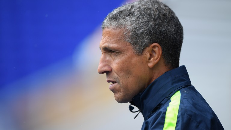 Chris Hughton has Nottingham Forest heading in the right direction