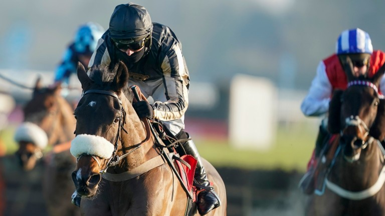 McFabulous breezes home under Harry Cobden, but the winning ride was criticised by Mick Fitzgerald on ITV Racing