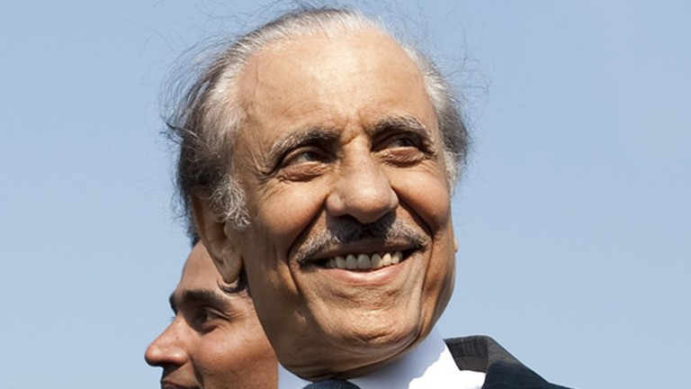 Khalid Abdullah: died on Tuesday, aged 83