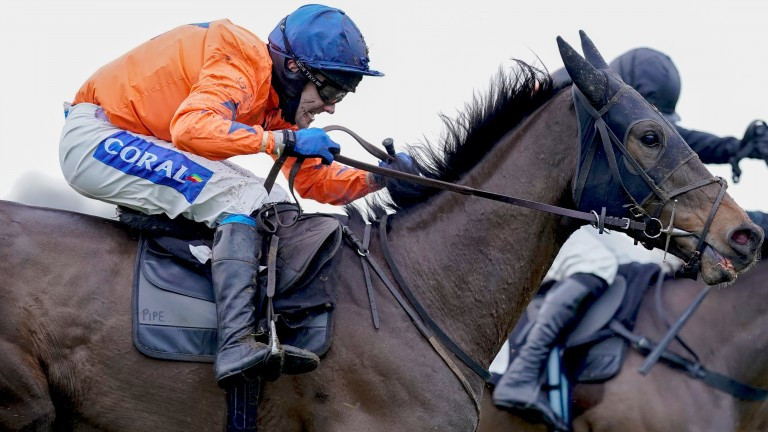Gericault Roque: impressive winner at Plumpton