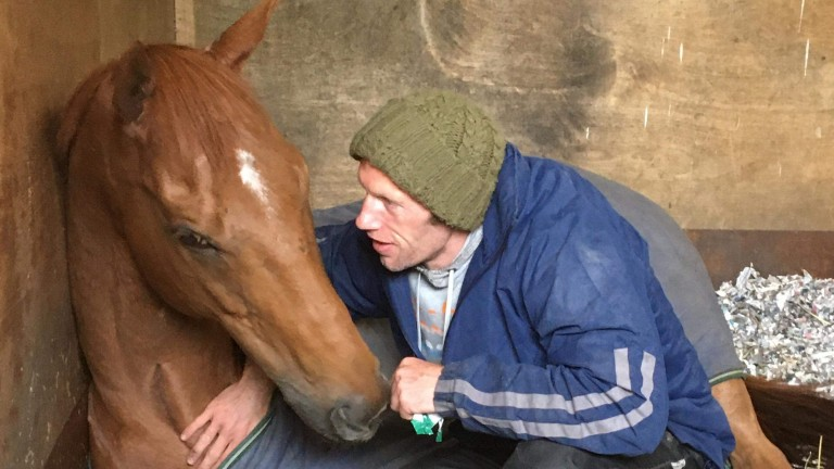 Ad Vitam with assistant trainer Aaron James