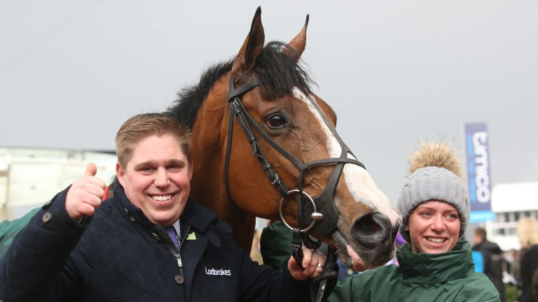 Dan Skelton: runs Amoola Gold and Not That Fuisse in the Grand Annual