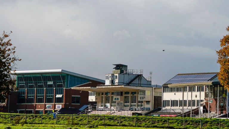 Taunton racecourse: to be used as a mass vaccination centre