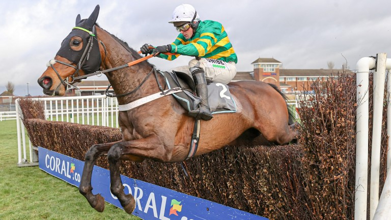 Dame De Compagnie: beat Cornerstone Lad in a novice chase at Ayr on her return
