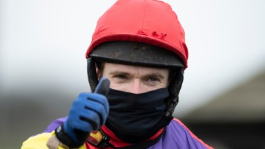 Tom Scudamore: up to ninth in the all-time jump jockey's standings after Wincanton winner