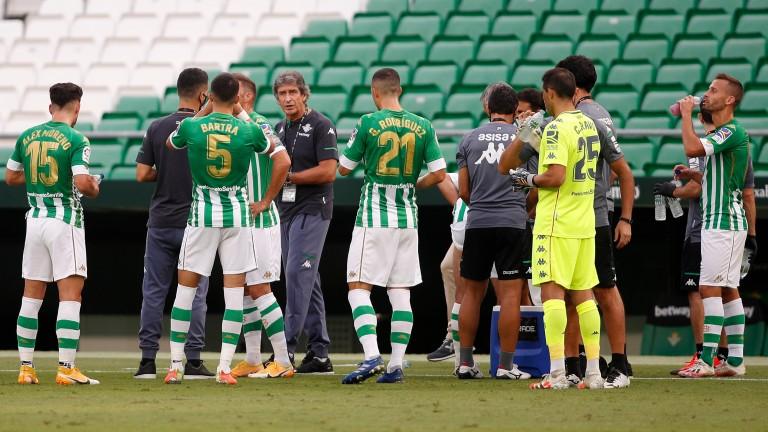 Manuel Pellegrini's Real Betis takes on Real Sociedad in La Liga