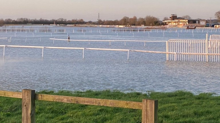 Huntingdon's meeting on Thursday is already in serious doubt due to flooding, as a spate of tracks call inspections