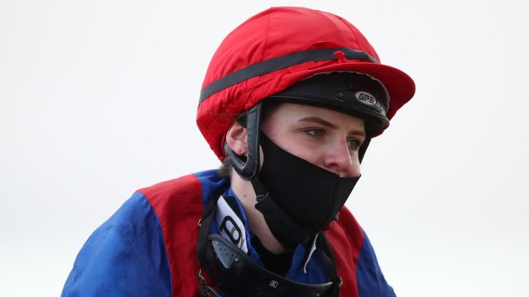 Laura Pearson: leading all-weather apprentice will not be in action in February