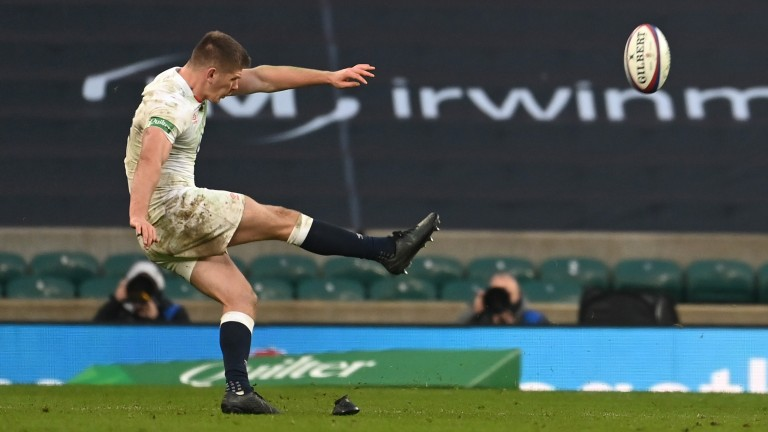 England's Owen Farrell is favourite to be the tournament's top tryscorer