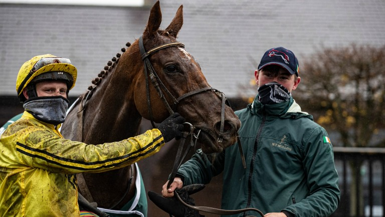 Buildmeupbuttercup: heads the weights for the Ladbrokes Hurdle