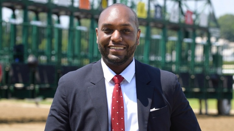 Najja Thompson spent nine years in communications and marketing with the New York Racing Association