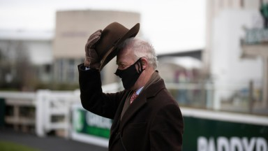 Willie Mullins: sent out a treble at Leopardstown on Monday