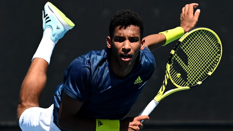 Felix Auger-Aliassime can prove the market move correct by defeating his fellow Canadian Denis Shapovalov