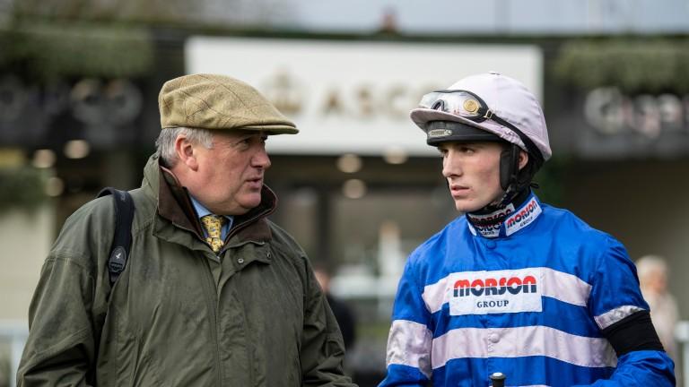 Harry Cobden: is 14 winners behind Brian Hughes in the jockeys' title race