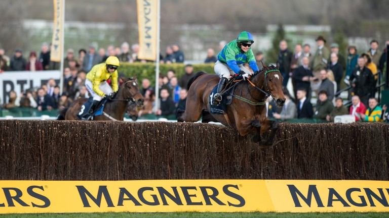 It Came To Pass won the St James's Place Hunters' Chase under amateur rider Maxine O'Sullivan 12 months ago but the race will be restricted to professional riders in 2021