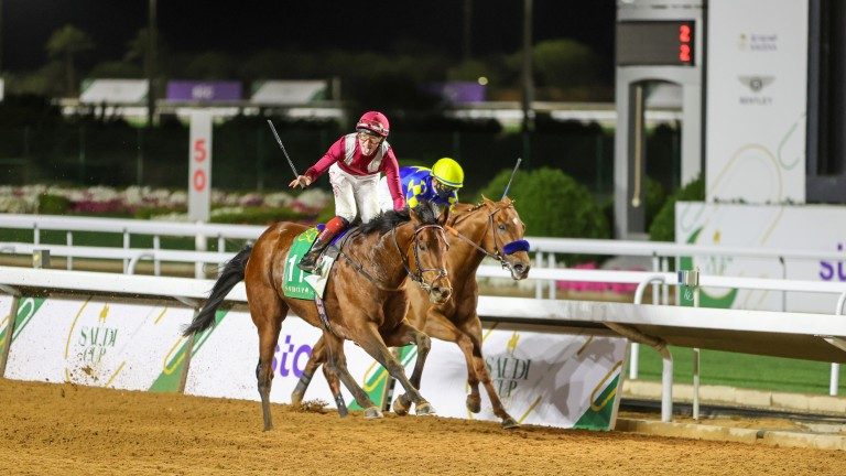 Mishriff: French Derby hero lands the 2021 Saudi Cup from Charlatan